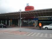 Tampere-Pirkkalan lentoaseman terminaali 1 ulkoa.