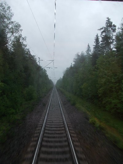 Junarataa Lappeenrannan ja Joutsenon väliltä